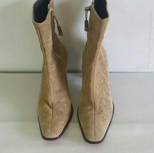 Ralph Lauren Corina leather Ankle boots sz 8.5